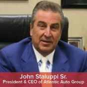 President & Ceo of Atlantic Auto Group John Staluppi Sr. in Management at NY Auto Giant