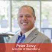 Director of Operations Peter Zorzy in Management at NY Auto Giant
