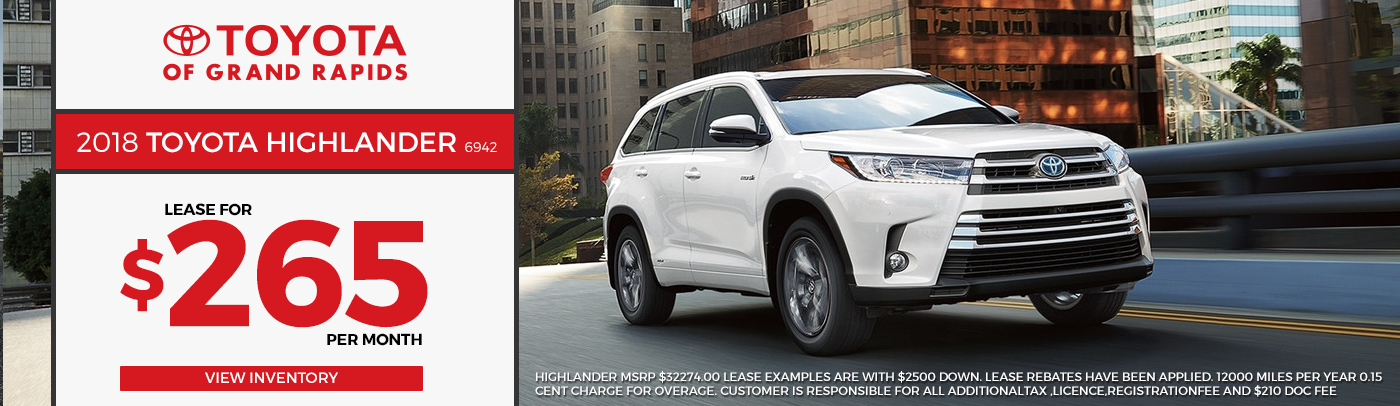 Your Toyota Dealer in Grand Rapids | New & Used Cars For Sale