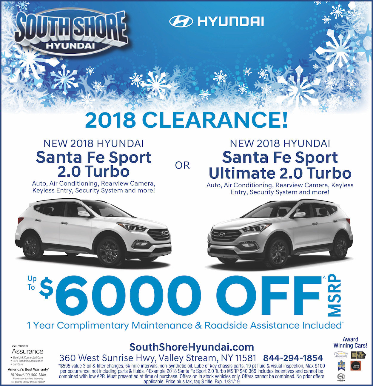 santa fe limited ultimate clearance offer