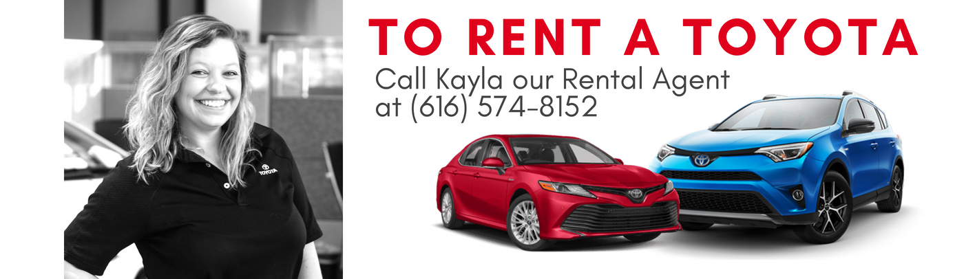 Renting Through Toyota Rent A Car At Toyota Of Grand Rapids Means That You  Can: