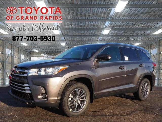 Lease this 2019, Gray, Toyota, Highlander, XLE