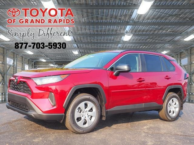 Lease this 2019, Red, Toyota, RAV4, LE