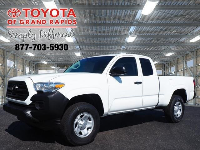 Lease this 2019, White, Toyota, Tacoma, SR
