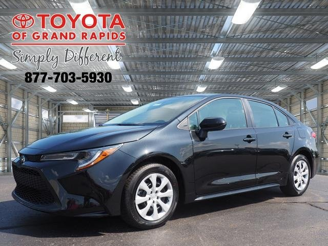 Lease this 2020, Black, Toyota, Corolla, LE