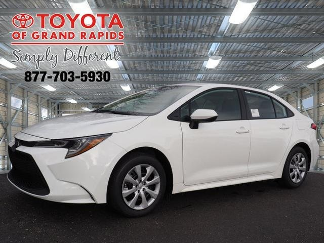 Lease this 2020, White, Toyota, Corolla, LE