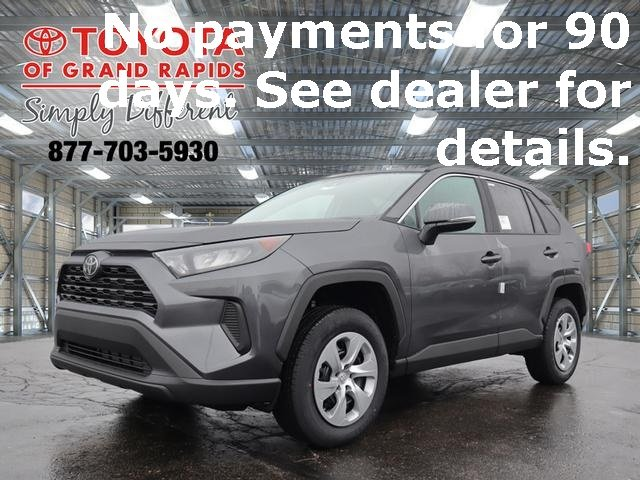 Lease this 2020, Gray, Toyota, RAV4, LE