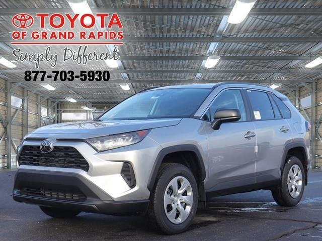 Lease this 2020, Silver, Toyota, RAV4, LE