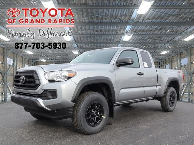 Lease this 2020, Black, Toyota, Tacoma, SR