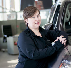 Title Clerk Erica Forster in Managers at Toyota of Grand Rapids