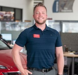 Sales & Leasing Professional Chasten Brown in Sales at Toyota of Grand Rapids