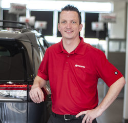 New Car Sales Director Dusten Sorensen in Managers at Toyota of Grand Rapids