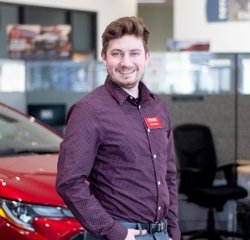 Sales & Leasing Professional Tyler Keeler in Sales at Toyota of Grand Rapids