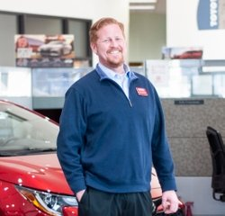 Sales & Leasing Professional Emil Thor Hannesson in Sales at Toyota of Grand Rapids
