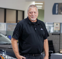 Service Consultant Ron Jones in Service at Toyota of Grand Rapids