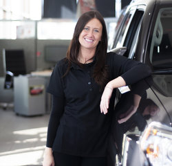 Receptionist Maggie Oneill in Managers at Toyota of Grand Rapids