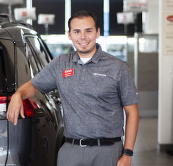 Sales & Leasing Professional Victor Saenz in Sales at Toyota of Grand Rapids