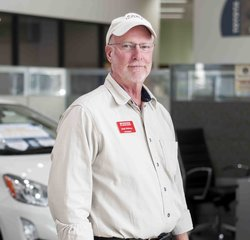 Parts Consultant Mark Whitney in Parts at Toyota of Grand Rapids