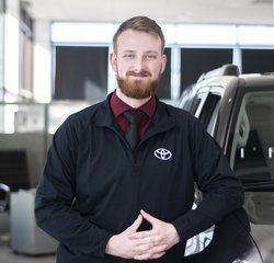 Sales & Leasing Professional Cody Selders in Sales at Toyota of Grand Rapids