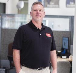 Service Consultant Dave Crawford in Service at Toyota of Grand Rapids