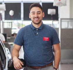 Sales & Leasing Professional Zac Harper in Sales at Toyota of Grand Rapids