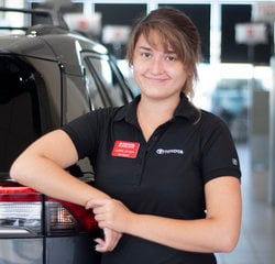 Sales & Leasing Professional Justine Johnson in Sales at Toyota of Grand Rapids