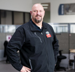 Sales Manager Kenny Evans in Managers at Toyota of Grand Rapids