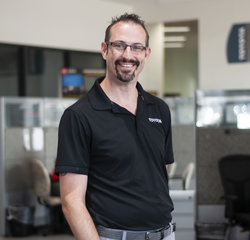 Service Consultant Adam Havens in Service at Toyota of Grand Rapids