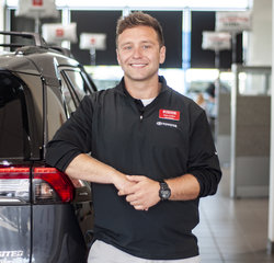 Sales & Leasing Professional Nick Collins in Sales at Toyota of Grand Rapids