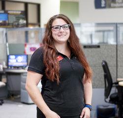 Service Consultant Felicia Contrera in Service at Toyota of Grand Rapids