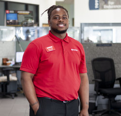 Sales & Leasing Professional Garry Harris in Sales at Toyota of Grand Rapids