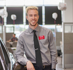 Sales & Leasing Professional Quentin Gibson in Sales at Toyota of Grand Rapids