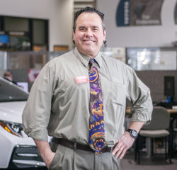Sales & Leasing Professional Chris Huvaere in Sales at Toyota of Grand Rapids