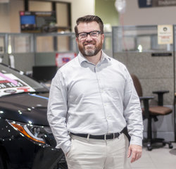 Body Shop Customer Service Representative Josh Graham in Service at Toyota of Grand Rapids