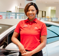 Customer Care Specialist Emmy Granderson in Customer Care Team at Toyota of Grand Rapids