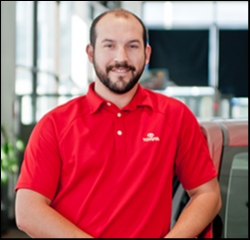 Finance Manager Evan Timm in Managers at Toyota of Grand Rapids