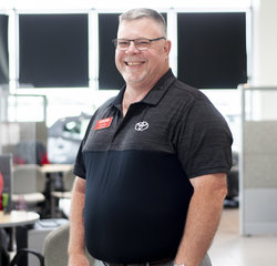 Sales Manager Tom Cox in Managers at Toyota of Grand Rapids