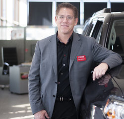 Finance Manager Terry Madison in Managers at Toyota of Grand Rapids