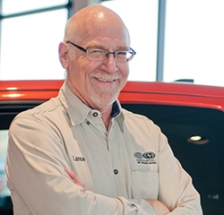 Retail Parts Lance Welmers in Parts at Toyota of Grand Rapids