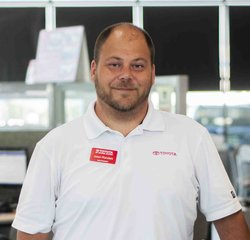Sales & Leasing Professional Jason Flanders in Sales at Toyota of Grand Rapids