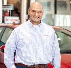 Sales & Leasing Professional Luis Sandoval in Sales at Toyota of Grand Rapids