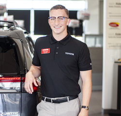 Sales & Leasing Professional Nate Clark in Sales at Toyota of Grand Rapids