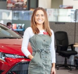 Sales & Leasing Professional Lexi Gipe in Sales at Toyota of Grand Rapids