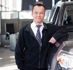 Sales & Leasing Professional Lee Ly in Sales at Toyota of Grand Rapids