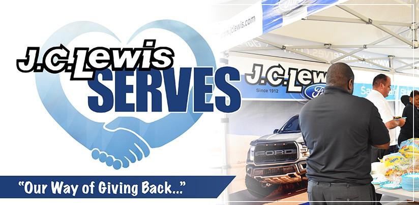 jc lewis serves