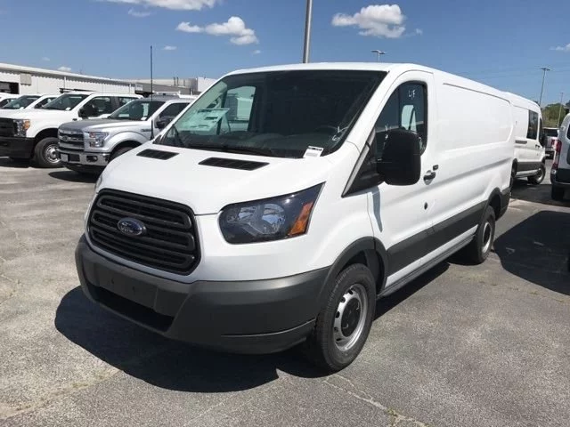 Ford Transit work van with a low roof