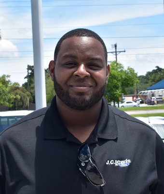 New Car Sales Associate Corey Wright in Sales at J.C. Lewis Ford