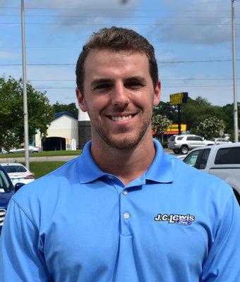 New Car Sales Associate Joe Lewis in Sales at J.C. Lewis Ford