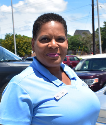 New Car Sales Associate Tina Wingster in Sales at J.C. Lewis Ford