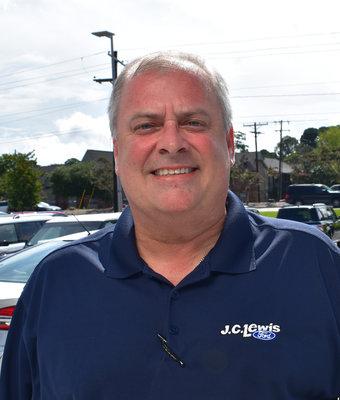 Used Car Sales Associate Greg Howard in Sales at J.C. Lewis Ford